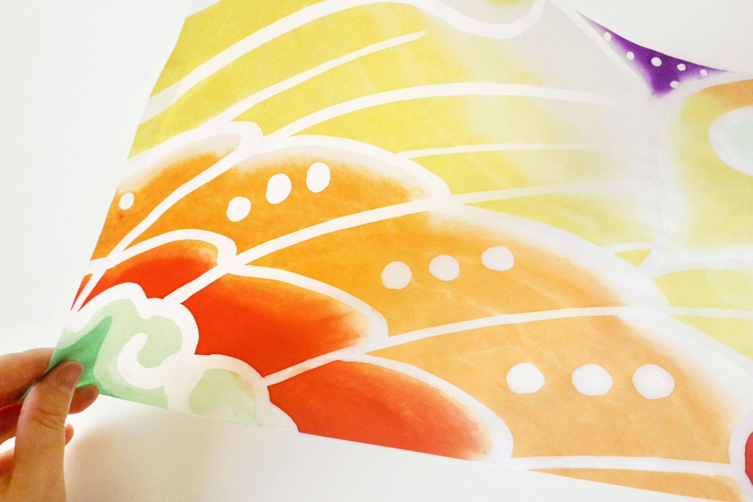 灯りの紙_鳳凰